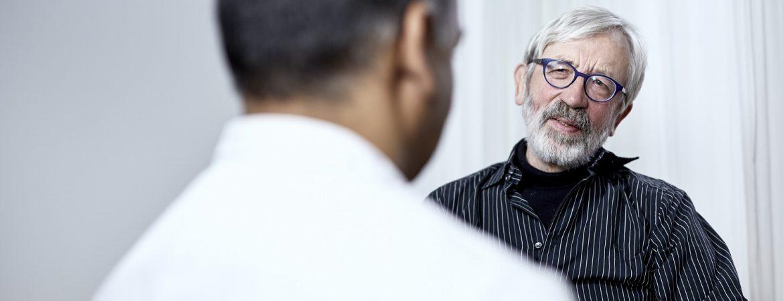 arts in gesprek met patiënt LUMC